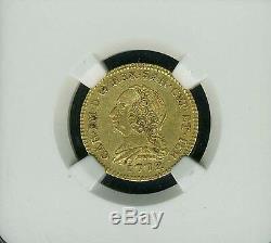 Italy / Italian States Sardinia 1772 1/2 Doppia Gold Coin Certified Ngc Xf-45