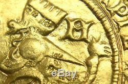 Italy Milano 24K Solid Gold Galeazzo Maria Sforza Repro Coin
