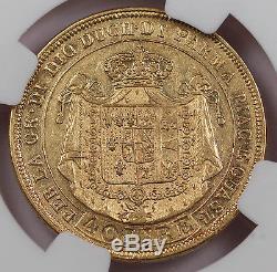 Italy Parma 1815 40 LIRE Gold Coin NGC VF35 KM-C32 Italian States Maria Luigia