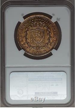 Italy Sardinia 1826 gold 80 lire NGC AU 53