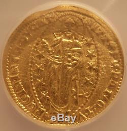 Italy Venice 1343-1354 Gold Ducat ICG MS62 Andrew Dandolo