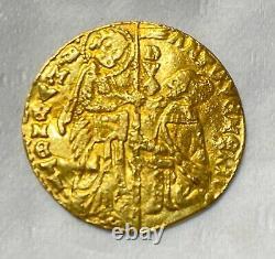 Italy. Venice. Antonio Venier 1382-1400 Ad Scarce! Choice Coin