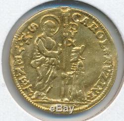 Italy Venice Carlo Ruzzini 1732-5 Vf Details