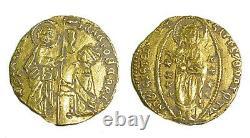 Italy/Venice Medieval Gold Coin Francesco Foscari (1423-57)