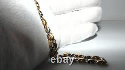 Must See Bvlgari Bulgari Heavy Necklace 18k Gold With Rare Antique Coin pendant