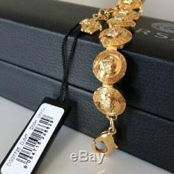 NEW VERSACE Medusa Coin Bracelet