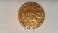 Old Coin Italy Kingdom of Sardinia Carlo Alberto 50 lire 1836 (Turin)
