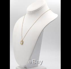 ROBERTO COIN 18K Yellow Gold and Mother-of-Pearl Pois Moi Pendant Necklace