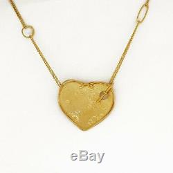 ROBERTO COIN 18Kt Yellow Gold Heart Necklace