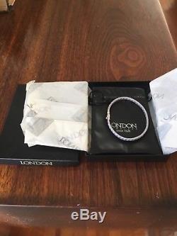 ROBERTO COIN 18k White Gold Silk Woven Women's Bracelet