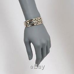 ROBERTO COIN 18kt Yellow Gold Chic & Shine Cuff Bracelet 02LA