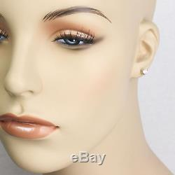 ROBERTO COIN Cento Diamond Stud Earrings in 18k White Gold. 48cttw