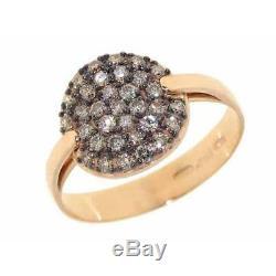 ROBERTO COIN FANTASIA 18KT Rose Gold Cognac Diamond Ring (777481AX65BD)