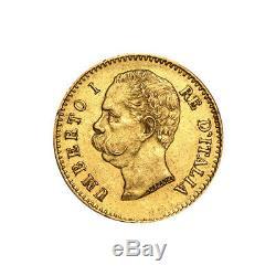 Random Year Italian 20 Lira Gold Coin