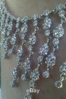 Robert Coin 18k diamond large splayed necklace