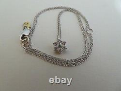 Robert Coin Tiny Treasures 18k gold and diamond Star of David necklace