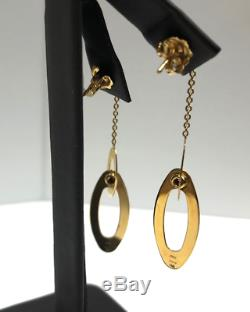 Roberto Coin 18K Gold Chic & Shine Drop Earrings