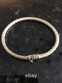 Roberto Coin 18K Gold Woven Bangle Bracelet