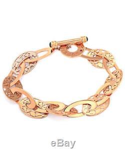 Roberto Coin 18K Rose Gold Bracelet 777350AXLB00 MSRP $2,660