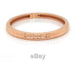Roberto Coin 18K Rose Gold Pyramid Bangle