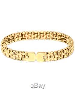 Roberto Coin 18K Yellow Gold Bracelet 777396AYBA00 MSRP $3,700