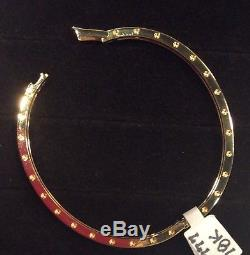 Roberto Coin 18K Yellow Gold Pois Moi Bracelet-NWT & Box MSRP $2,750