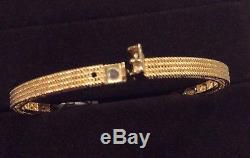 Roberto Coin 18K Yellow Gold Symphony Barocco Bracelet-NWT & Box