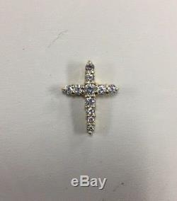 Roberto Coin 18k Gold & Diamond Cross Pendant