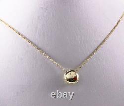 Roberto Coin 18k Gold Diamond Enamel Blowing Heart Kisses Emoji Necklace Pendant