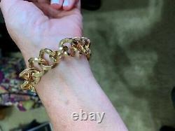 Roberto Coin 18k Gold Italy Link Bracelet