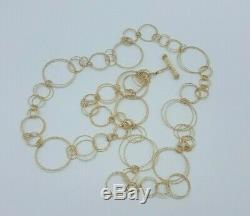 Roberto Coin 18k Gold Mauresque Circle Link 36 Necklace