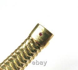 Roberto Coin, 18k Gold Primavera Stretch Diamond Bracelet