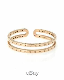 Roberto Coin 18k Rose Gold Bracelet 7771681AXBA0