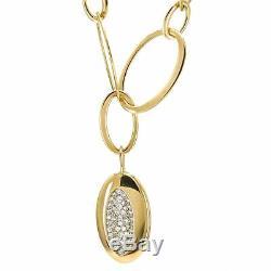 Roberto Coin 18k Rose Gold Capri Plus Diamond Necklace