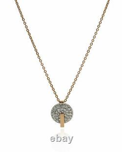 Roberto Coin 18k Rose Gold Diamond(0.92ct Twd.)Necklace 8882315AX18X