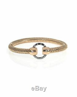 Roberto Coin 18k Rose & White Gold Diamond Primavera Bracelet 557785AHBAX0