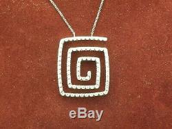 Roberto Coin 18k White Diamond Necklace