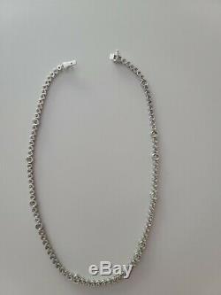 Roberto Coin 18k White Gold 7 Carats Diamond Necklace