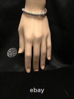 Roberto Coin 18k White Gold Appassionata Collection Diamond Bracelet Very Rare