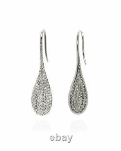 Roberto Coin 18k White Gold Diamond 2.31ct Earrings 488142AWERX0