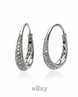 Roberto Coin 18k White Gold Diamond Earrings 3304779AWERX