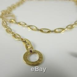 Roberto Coin 18k Yellow Gold 30 Linked Chic And Shine Toggle Necklace