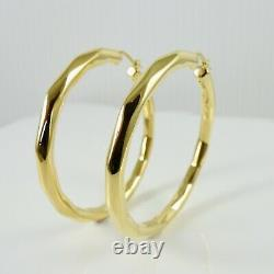 Roberto Coin 18k Yellow Gold 59mm Oro Classic Hoop Earrings