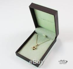 Roberto Coin 18k Yellow Gold Diamond Star Of David Necklace Pendant, Beautiful