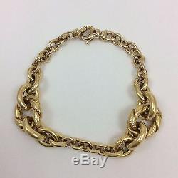 Roberto Coin 18k Yellow Gold Italian Link Bracelet