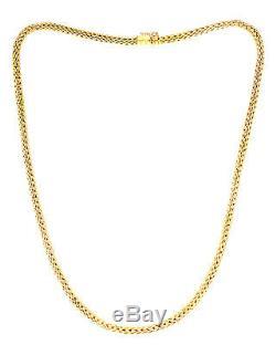 Roberto Coin 18k Yellow Gold Lariat Necklace 156278AY1800