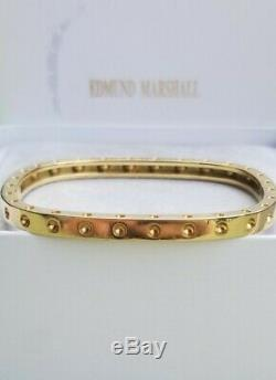 Roberto Coin 18k Yellow Gold Pois Moi Bangle Bracelet $3900