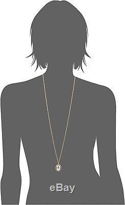 Roberto Coin 36 Pebble Pendant Diamond Cut Necklace 18k Yellow White Gold $2650