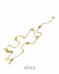 Roberto Coin Barocco 18k Yellow Gold Diamond(0.24ct Twd.)Necklace 7771922AY13X
