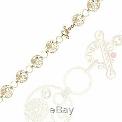 Roberto Coin Bracelet Yellow Gold 18K fine jewelry 10.05g 6.69 diamond ruby